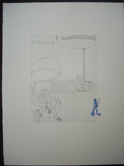 Inga Svala Thorsdottir - Original-Radierung auf Bütten von 2006, handsigniert kopen? Bied vanaf 75!
