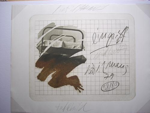 Dietrich Maus - Original-Radierung von 1978, signiert, datiert, betitelt und numeriert kopen? Bied vanaf 40!
