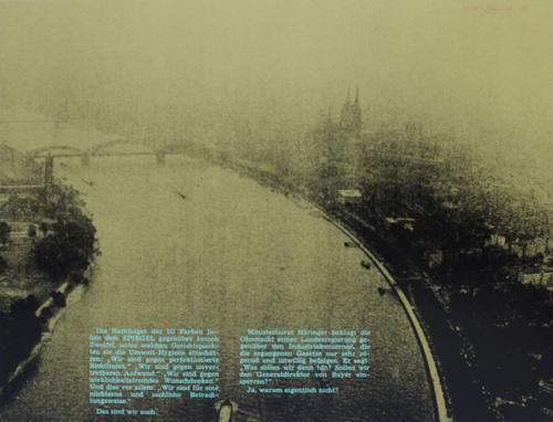 Klaus Staeck - Original-Serigrafie in 3 Farben von 1971, Aufl. 350 Ex., sign. u. nummeriert kopen? Bied vanaf 125!