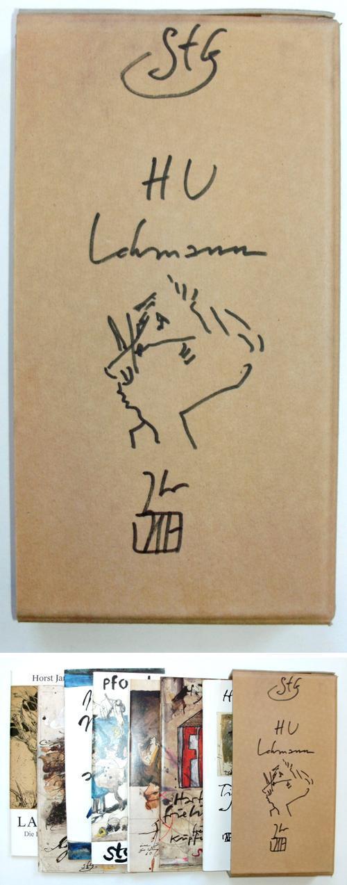 Horst Janssen - Original-Zeichnung (Selbstporträt) / Sieben Gertruden-Formate kopen? Bied vanaf 200!