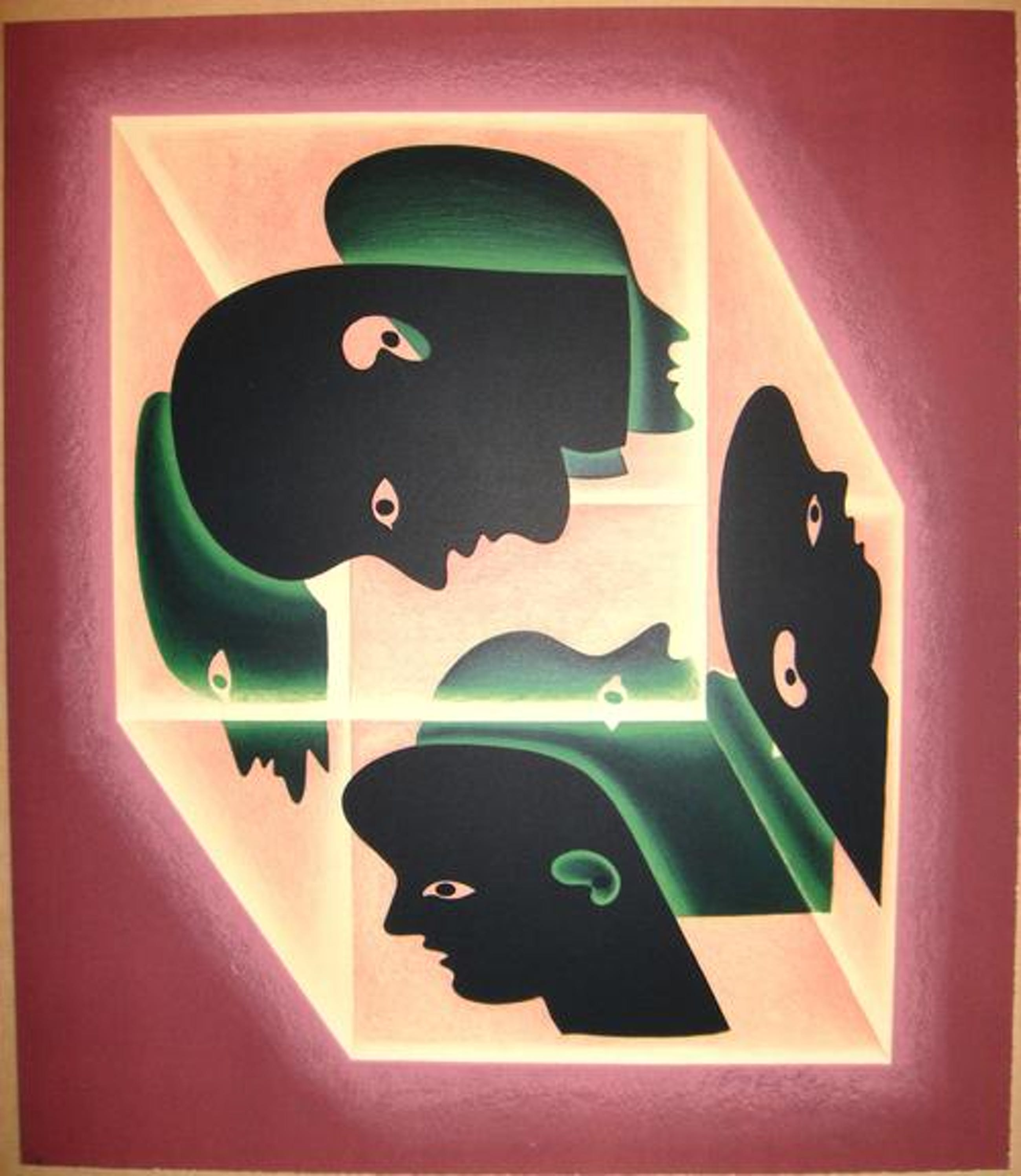 Victor Vasarely - Originale handsignierte Farbserigrafie - Auflage von nur 7 Exemplaren kopen? Bied vanaf 590!
