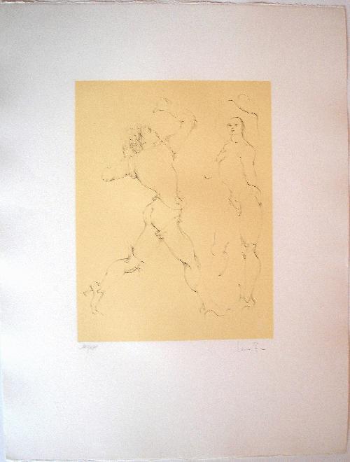 Leonor Fini - Originale Radierung - Handsigniert kopen? Bied vanaf 190!