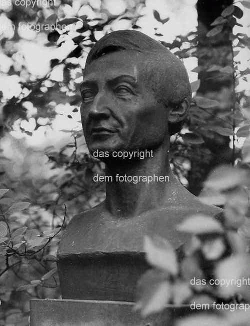 Senta Baldamus - OriginalFotographie der Skulptur PETER JOSEF LÉNNÉ - 1963 handsigniert kopen? Bied vanaf 35!