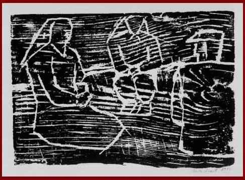 Eva VENT - OriginalHolzschnitt d. BERLINer Künstlerin aus MASUREN handsigniert und datiert 1982 kopen? Bied vanaf 45!