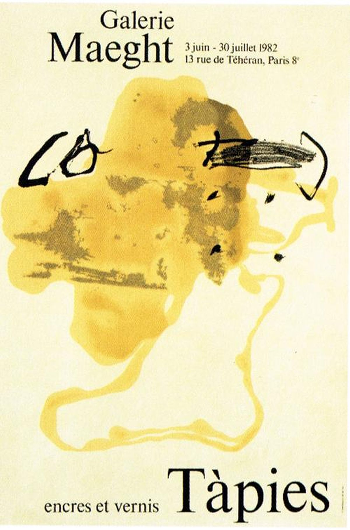 Antoni Tapies - Originallithografie, 1982 kopen? Bied vanaf 72!