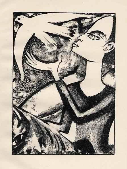 Max Kaus - OriginalLithographie auf Velin - zum Heiligen JULIAN ( youth freeing a bird ) 1919 -RIFKIND 1385-2 kopen? Bied vanaf 35!