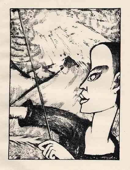 Max Kaus - OriginalLithographie auf Velin - zum Heiligen JULIAN - YOUTH with STICK: RIFKIND 1385-2 - 1919 kopen? Bied vanaf 35!