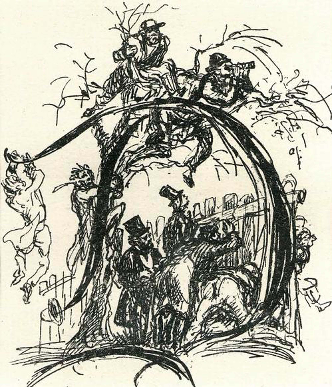 Max Slevogt - OriginalLithographie des BERLINer AKADEMIE Professoren zu Adolf von MENZELs PERSONALIA - 1924 kopen? Bied vanaf 45!