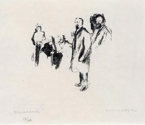 Max Mayrshofer - OriginalLithographie des MÜNCHNER Künstlers der MÜNCHNER SEZESSION - handsigniert, numeriert, 1920 kopen? Bied vanaf 55!