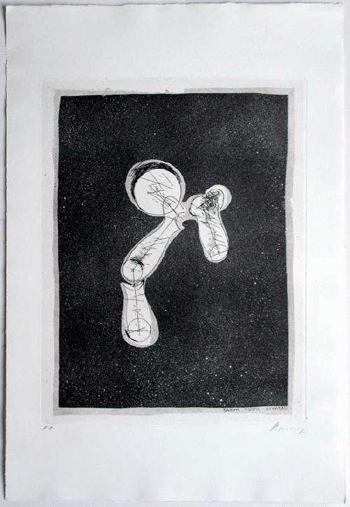Rudolf Hoflehner - - ORPHEUS STEIGT HERAB - Radierung auf Bütten, handsigniert, mit E.A. bezeichnet kopen? Bied vanaf 390!