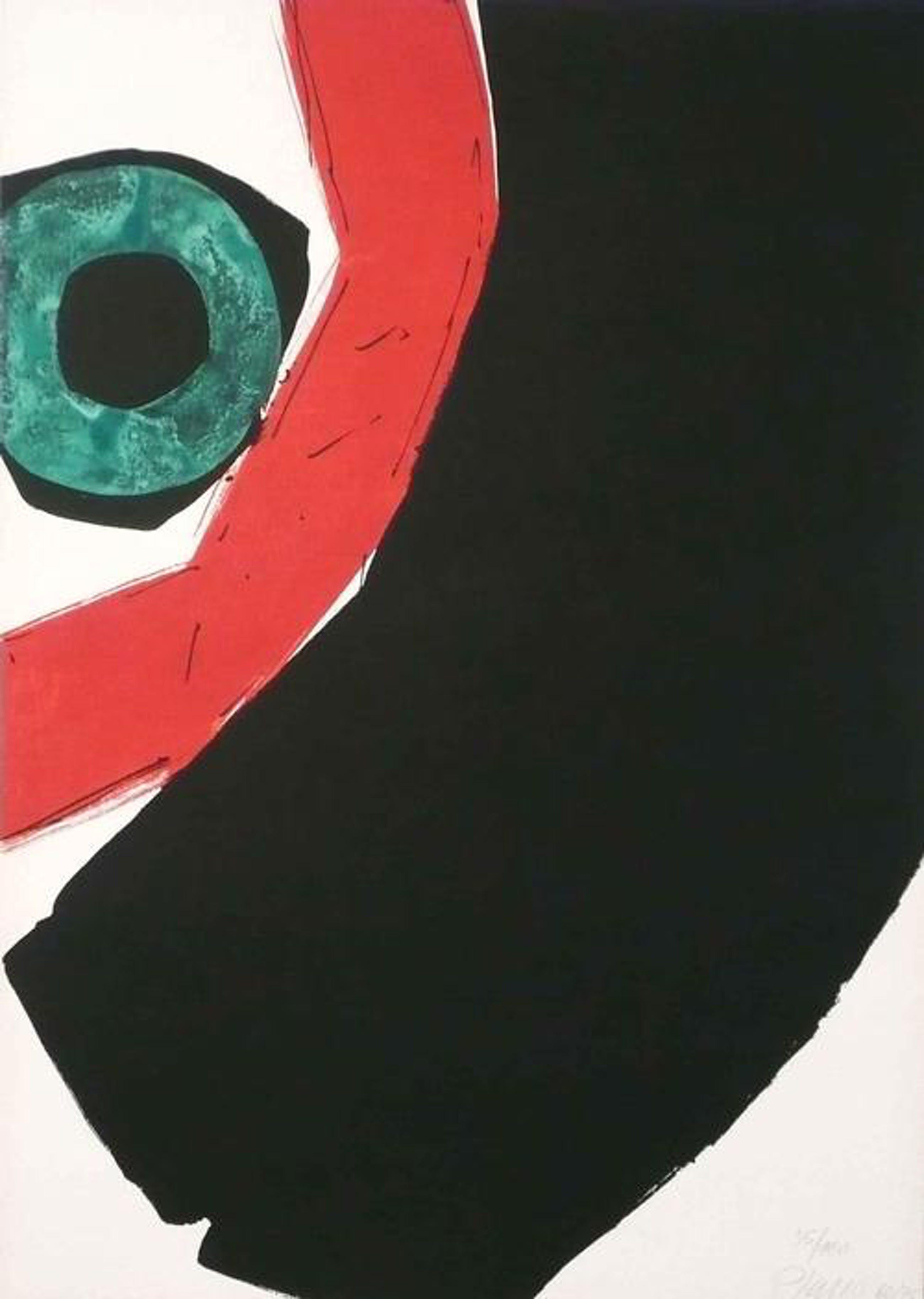 Georg Karl Pfahler - o.T, 1968, Farbserigrafie, 35/100 kopen? Bied vanaf 120!