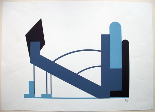 Thilo Maatsch - o.t. Farbserigrafie u.r. signiert: Thilo kopen? Bied vanaf 155!
