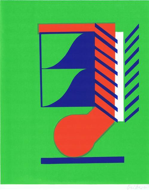 Heinz Oliberius - O.T. Farbserigraphie , 1972 kopen? Bied vanaf 28!