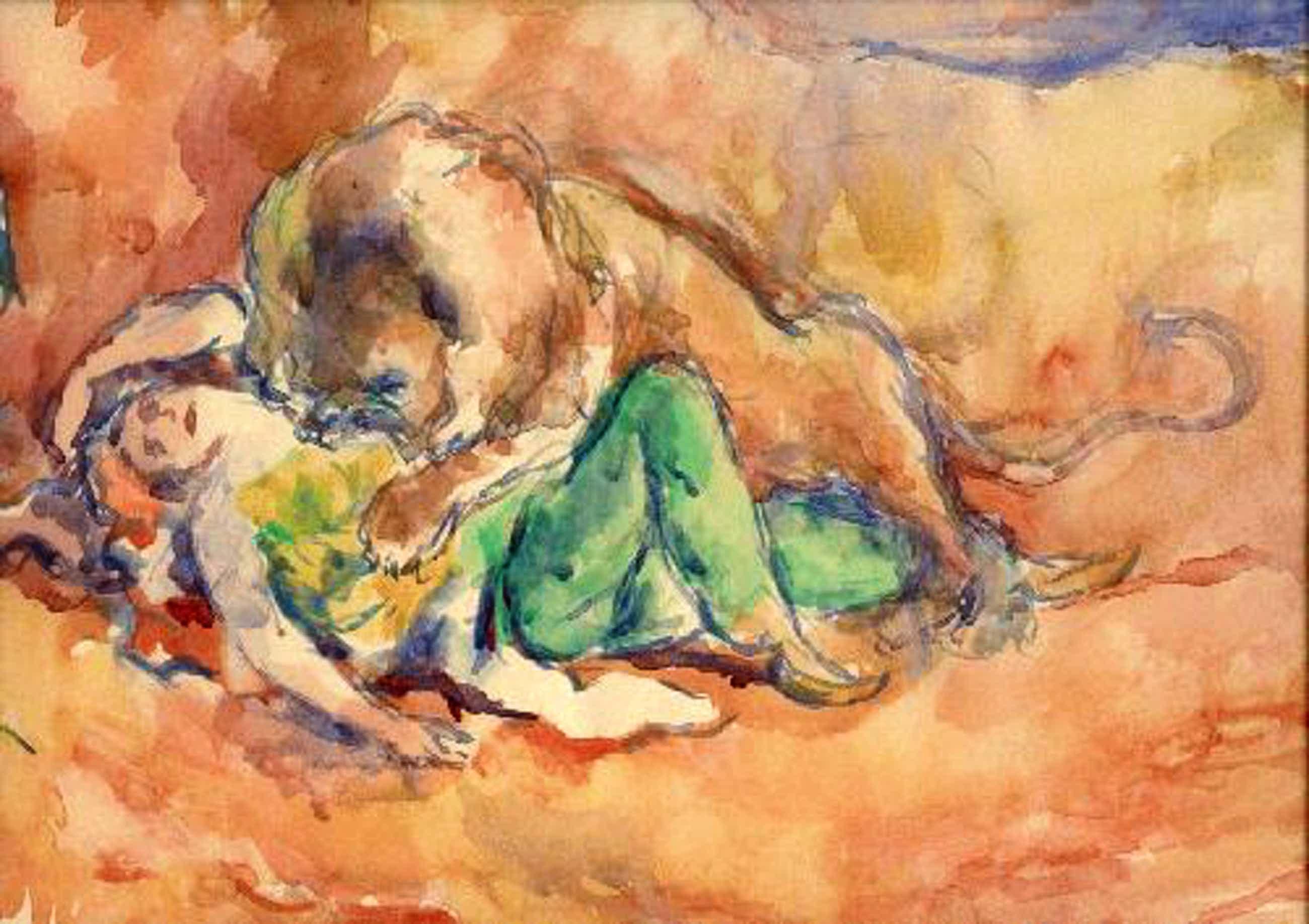 Otto Schubert - Fünf Aquarelle orientalische Szenen, signiert kopen? Bied vanaf 1600!
