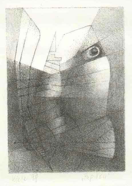 Irene Kiele - - PAPILLON - OriginalLithographie der Werner TÜBKE & Berhard HEISIG-Schülerin - 1998 handsigniert kopen? Bied vanaf 65!