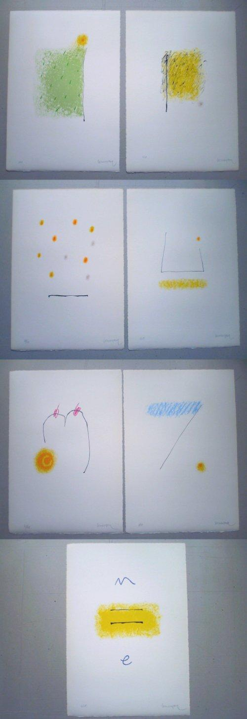 Enric Cormenzana - Pas de Dansa, Serie von 7 Farblithografien, signiert + bezeichnet kopen? Bied vanaf 250!
