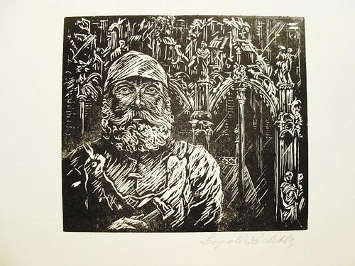 Leopold Wächtler - Peter Vischer d. Ä. Balder-Presse. Handsignierter Holzschnitt von 1929 kopen? Bied vanaf 30!