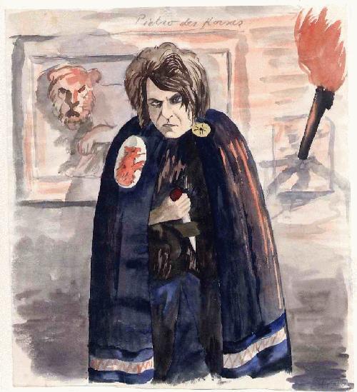 Erich Probst - PIETRO der KORSAR - handsigniertes & tituliertes OriginalAquarell Illustratoren aus AUSTRIA kopen? Bied vanaf 95!