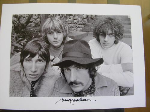 Baron Baron Wolman - Pink Floyd 1967, Abzug 2010, handsigniert kopen? Bied vanaf 500!