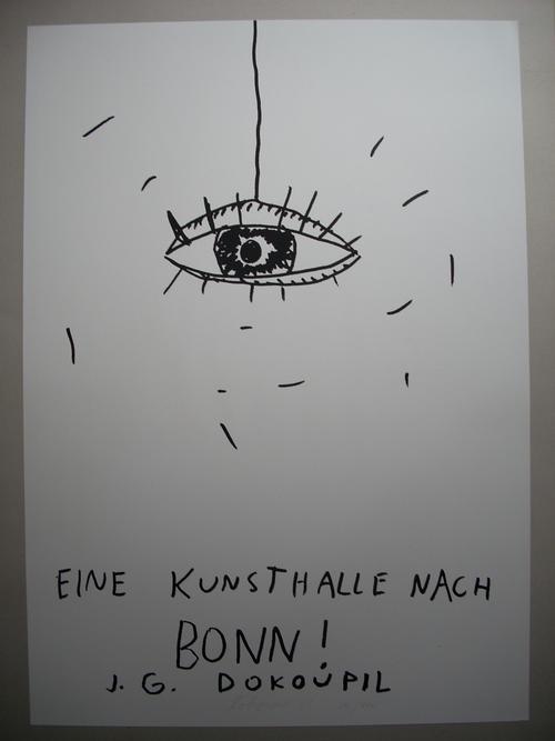Jiri Georg Dokoupil - Plakat-Original-Plakat von 1983, handsigniert und nummeriert, Ex. 80!100 kopen? Bied vanaf 75!