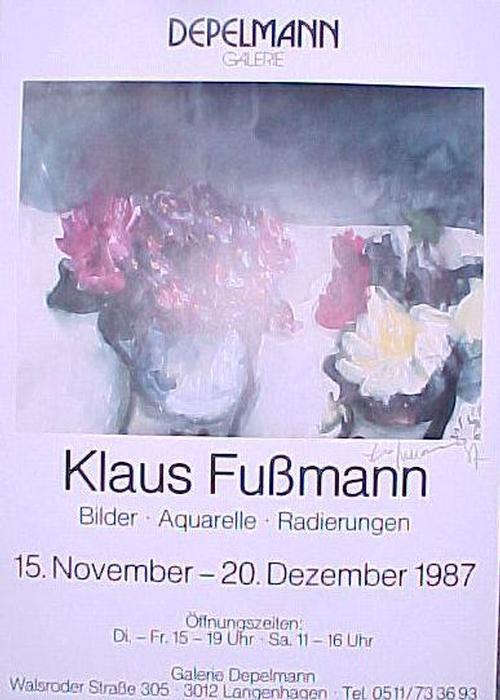 Klaus Fussmann - Plakat, sign. 19887 kopen? Bied vanaf 40!