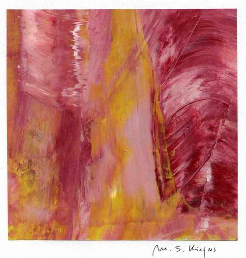 Michael S. Kiefers - POETRY in INFORMELL - Handsignierte Acrylmalerei & Mischtechnik aus BERLIN kopen? Bied vanaf 35!