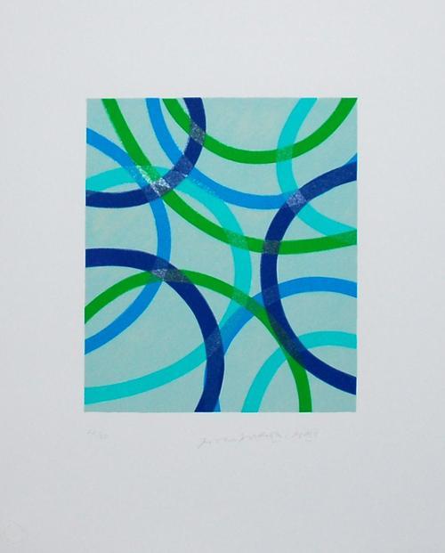 Piero Dorazio - Poi domani 5, Lithographie, 2002, signiert, nummeriert kopen? Bied vanaf 130!