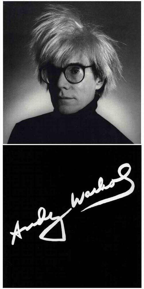 Christopher MAKOS - Portrait Andy WARHOL - Klappkarte aus glanzfolienkaschiertem Karton - Galerie Börjeson 1983 kopen? Bied vanaf 38!