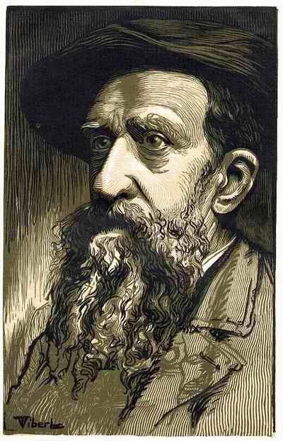 Constantin Meunier - PORTRAIT des großen BELGISCHEN BILDHAUERS OriginalHolzschnitt 1905 durch Pierre VIBERT in PARIS - kopen? Bied vanaf 45!