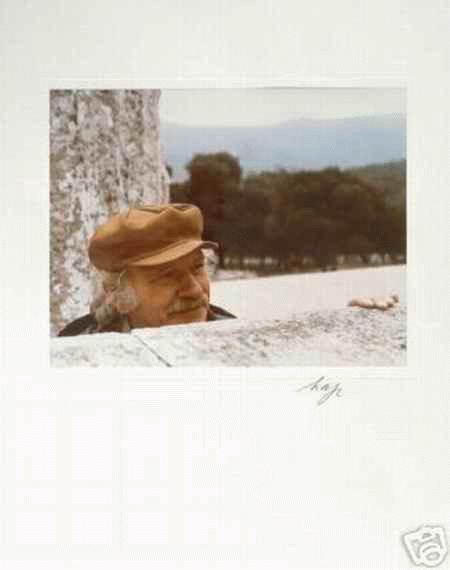 H.A.P. Grieshaber - Portrait des HAP GRIESHABER handsignierte OriginalFotographie von RICCA ACHALM 1980 kopen? Bied vanaf 160!