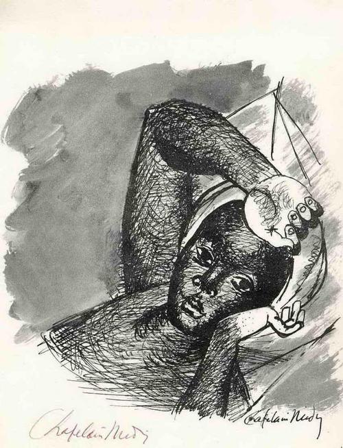 Roger Chapelain-Midy - PORTRAIT einer JUNGEN FRAU 1965 - Handsignierte Druckgraphik des PARISer Künstlers kopen? Bied vanaf 35!