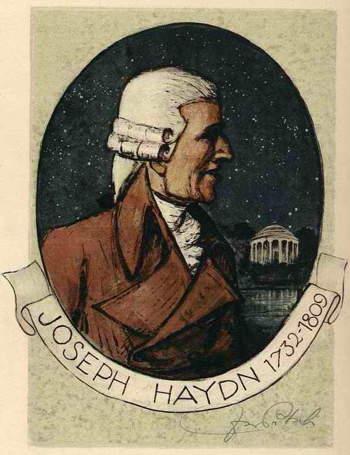 Igo Pötsch - Portrait Joseph HAYDN - Handsignierte Lithographie Schülers d.LKS GRAZ 1939 (WIENER KÜNSTLERHAUS) kopen? Bied vanaf 42!