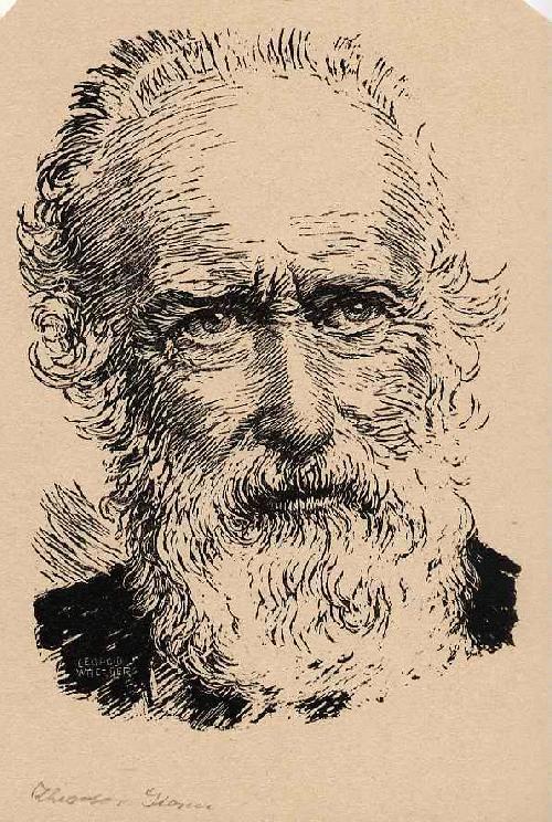 Leopold Wächtler - Portrait Theodor STORM - OriginalHolzschnitt des LEIPZIGer Künstlers aus PENIG - um 1930 kopen? Bied vanaf 26!