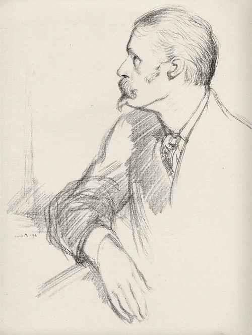 William Rothenstein - Porträt WALTER CRANE OriginalLithographie auf Bütten - PAN 1896 kopen? Bied vanaf 75!