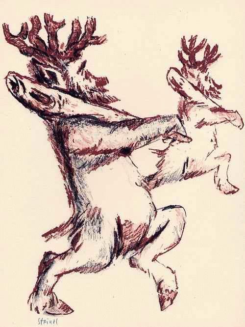 Kurt STEINEL - - PRINZ BIRIKINDER - OriginalPinsellithographie des OFFENBACHER Künstlers & Dozenten -signiert kopen? Bied vanaf 60!