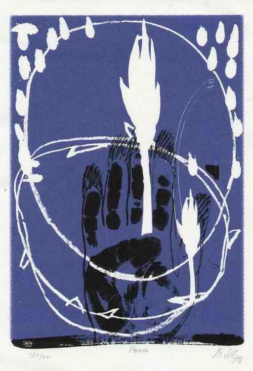 Martin Scholz - - PROZESSE - handsignierter OriginalSiebdruck d.DÖRRIES-HÖHER -Hermann ALBERT-Schülers aus BIELEFELD kopen? Bied vanaf 45!