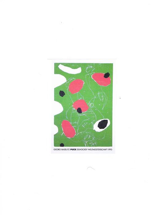 Georg Baselitz - PUCK - EISHOCKEY WELTMEISTERSCHAFT 1993 kopen? Bied vanaf 175!