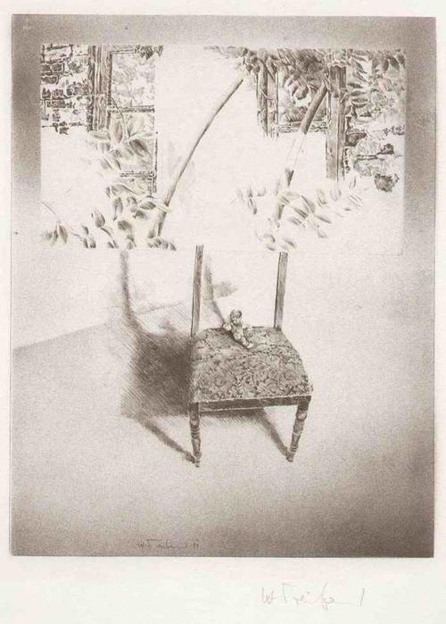Heinz Treiber - PUPPE - Handsignierte Lithographie des PFORZHEIMer Heinz TRÖKES-Schülers aus HÖFEN an der ENZ - 1985 kopen? Bied vanaf 75!