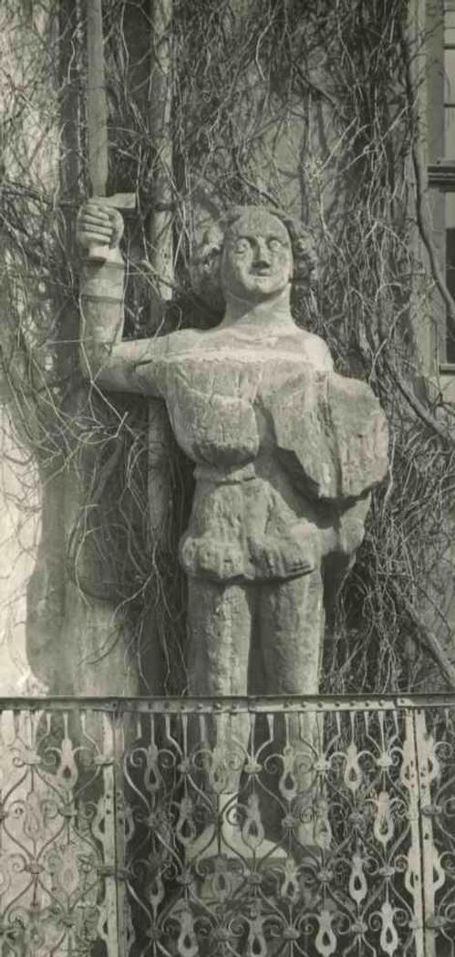 Paul W. John - QUEDLINBURG am HARZ - Der HISTORISCHE ROLAND vor dem RATHAUS um 1935 kopen? Bied vanaf 32!