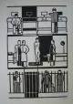 """Gerd Arntz - """" Krankenhaus"""" original Holzschnitt,1927/73, signiert kopen? Bied vanaf 250!"""