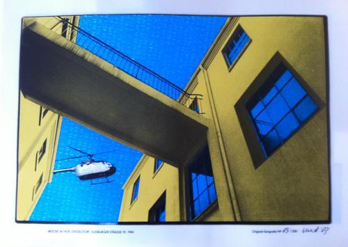 "Berend F. van Laar - ""Brücke im Hof"", Siebdruck auf Acetat, signiert, nummeriert kopen? Bied vanaf 90!"