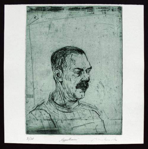 Reinhard Minkewitz - Radierung, 1988. kopen? Bied vanaf 85!
