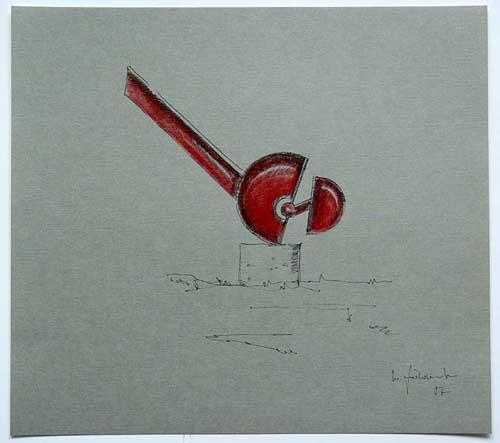 Wolfgang Göddertz - Raumverknotung 6 - handkolorierte Lithographie aus dem Jahr 1987 - handsigniert kopen? Bied vanaf 50!