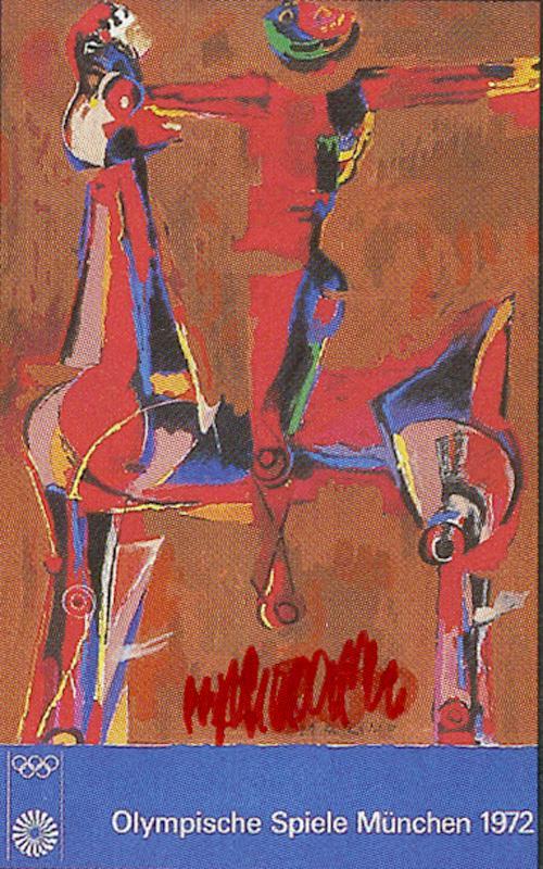 Marino Marini - Reiter mit Pferd, Lithografie , 1972 kopen? Bied vanaf 320!