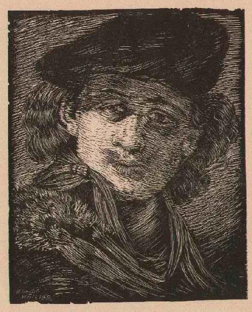 Leopold Wächtler - REMBRAND - Portrait in OriginalHolzschnitt um 1930 - signiert kopen? Bied vanaf 31!