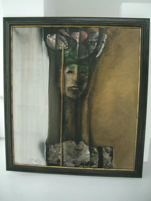 Antonio Maro - Retrato de un joven, Öl auf Leinwand 1979, Format 90 x 80 cm, gerahmt. kopen? Bied vanaf 1800!