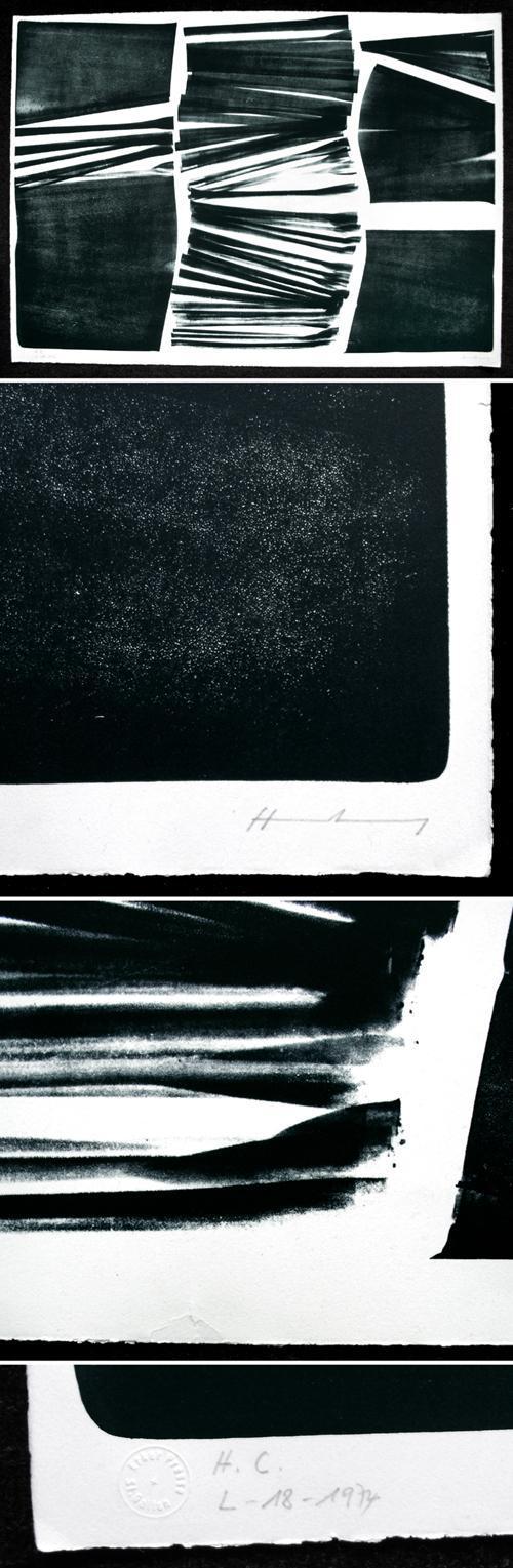 Hans Hartung - RMM 479. Lithographie, 1974. kopen? Bied vanaf 1000!