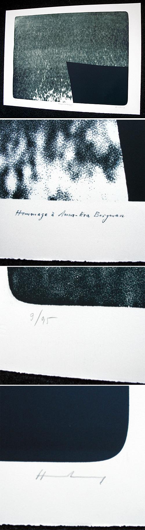 Hans Hartung - RMM 518. Lithographie, 1976. kopen? Bied vanaf 760!
