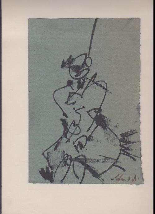 Roland Frenzel - Roland Frenzel, Weiblicher Akt, signiert, Kreide, ca. 1979 kopen? Bied vanaf 80!