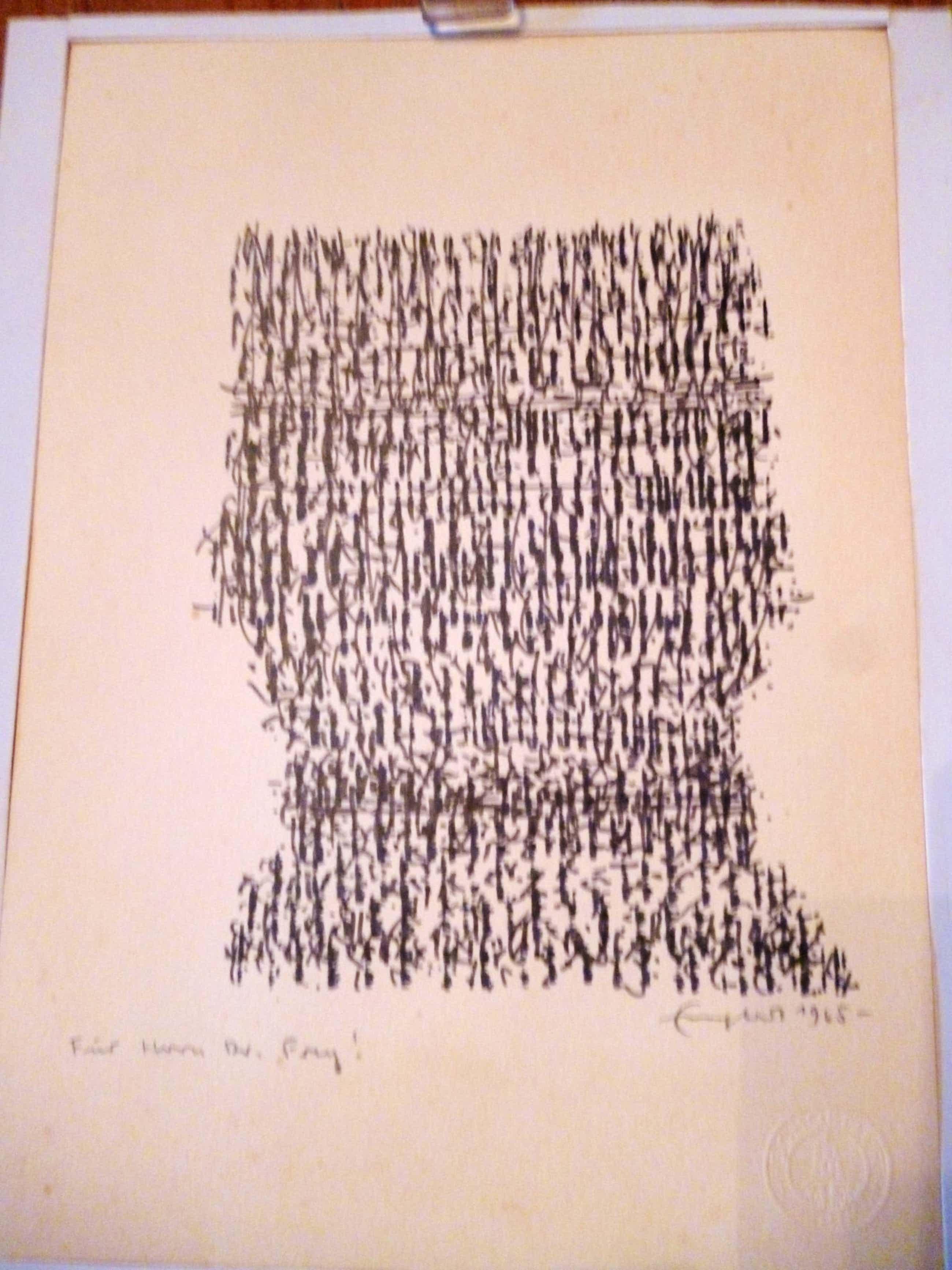 Rudolf Englert - Rudolf Englert, Tuschezeichnung, 1965 kopen? Bied vanaf 400!
